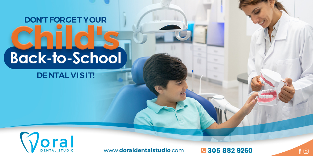 Don't Forget Your Child's Back-to-School Dental Visit!